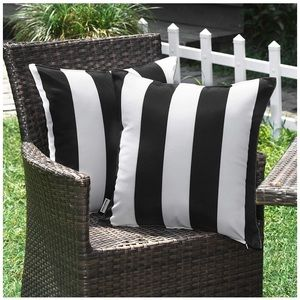 Patio furniture pillow covers